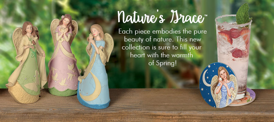 Our Serenity Nature's Grace Figurine will give you the inspiration to look to the future with hope.