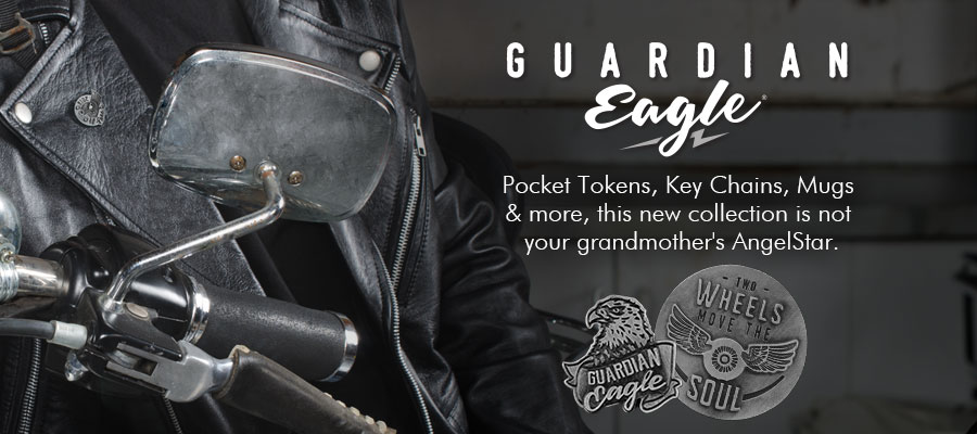 Guardian Eagle Collection - Pocket Tokens, Key Chains, Mugs & more, this new collection is not your grandmother\'s AngelStar.