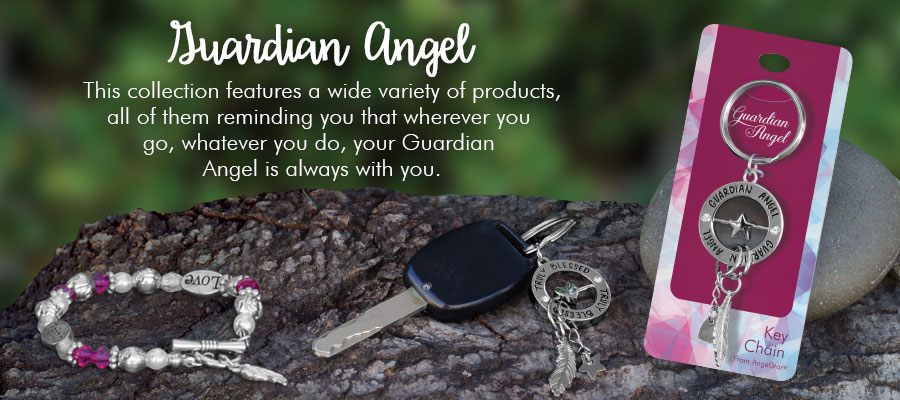 Guardian Angel - This collection features a wide variety of products, all of them remind you that your Guardian Angel is always with you.
