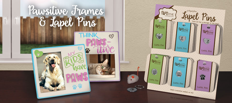 Pawsitive Frames and Lapel Pins