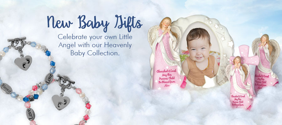 New Baby Gifts - Celebrate your own Little Angel with our Heavenly Baby Collection.