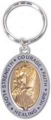 Hope Courage Key Chain