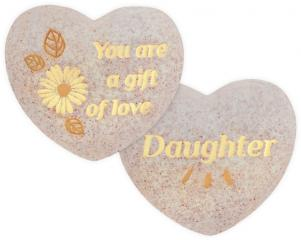 Heart of AngelStar Pocket Stone - Daughter