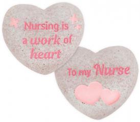Heart of AngelStar Pocket Stone - Nurse