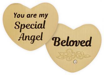 Heart of AngelStar Pocket Token - Beloved