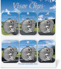 36 Piece Family Visor Clip Assortment