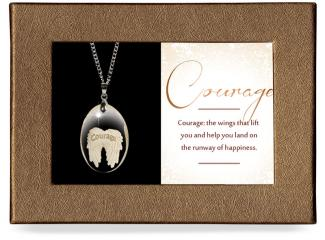 Courage Gift-Boxed Pendant