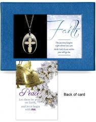 Faith Gift-Boxed Pendant
