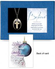 Believe Gift-Boxed Pendant