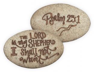Psalm 23:1 Stone