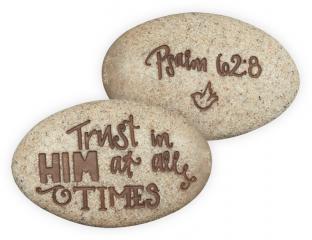 Psalm 62:8 Stone