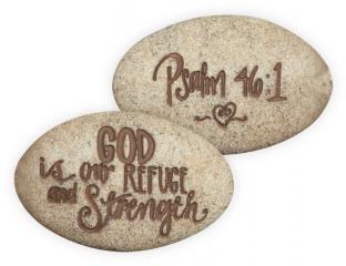 Psalm 46:1 Stone