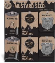 36 Piece Mustard Seed Mixed Plexi Assortment