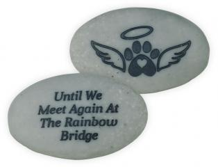 Rainbow Bridge Pet Stone - Rainbow Bridge