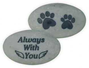 Rainbow Bridge Pet Stone - Always With you