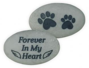 Rainbow Bridge Pet Stone - Forever In My Heart