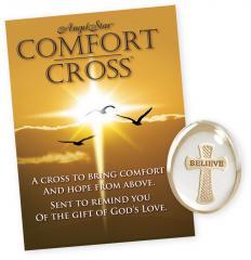 Believe Cross Stone