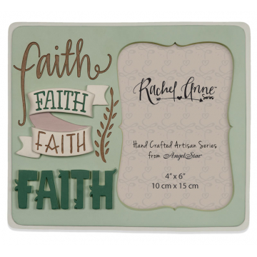 Faith Artisan Photo Frame