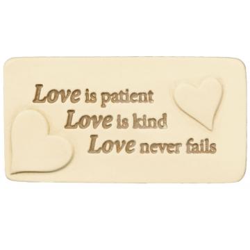 Love Is Scripture Tile