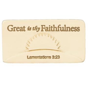 Faithfulness Scripture Tile