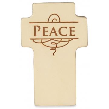 Peace/Faith Standing Strong Cross