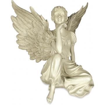 Thoughtfulness Garden Angel Statue