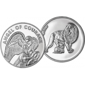 Angel of Courage Coin
