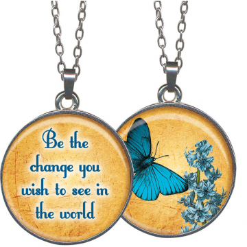 Be the Change Pendant