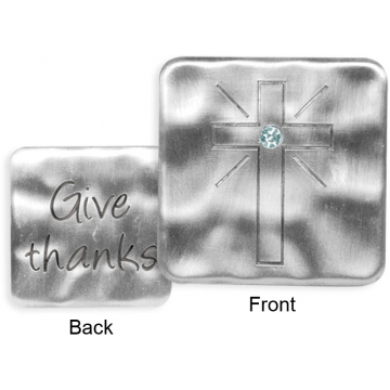 Jewels of Faith Token - Give Thanks