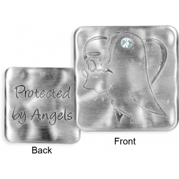 Jewels of Faith Token - Protected By Angels