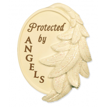 Protected By Angels Wing Visor Clip