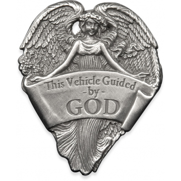 Guided by God Visor Clip