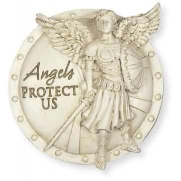Angels Protect Us Archangel Visor Clip