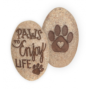 Paws to Enjoy Pawsitive Stone
