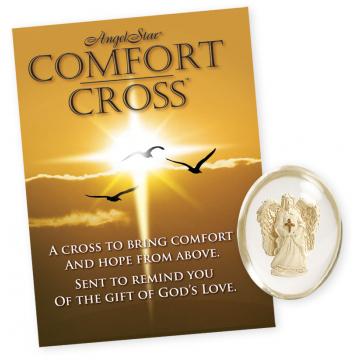 Angel with Cross Stone