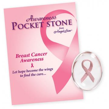 Pink Ribbon Stone