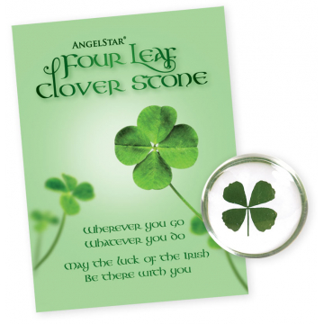 Four Leaf Clover Stone