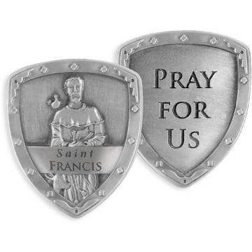 St. Francis Pocket Shield Token
