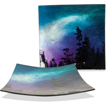"""Northern Lights 11"""" Square Plate"""
