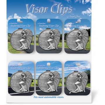 36 Piece Family Visor Clip Assortment