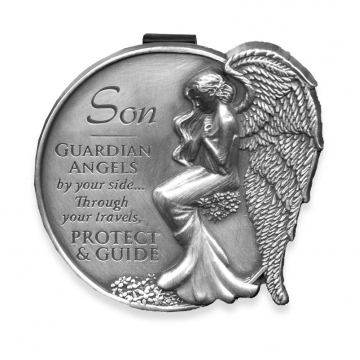 Son Guardian Angel Visor Clip