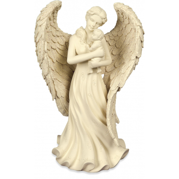 Angel & Baby Figurine