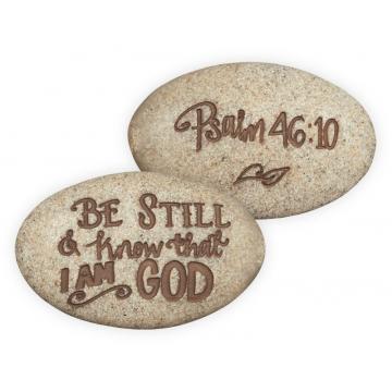 Psalm 46:10 Stone