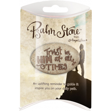 Psalm 62:8 Pillow Packed Stone