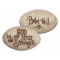 Psalm 46:1 Pillow Packed  Stone
