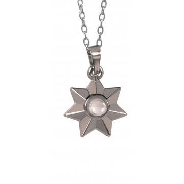 Star Medallion Blessed Magnifier Pendant