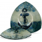 "Anchors Aweigh 11 1/2"" Triangle Plate"