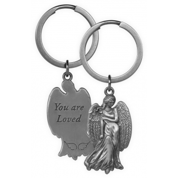 Guardian Angel Key Chain - You are Loved