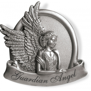 Guardian Angel Visor Clip - Peaceful
