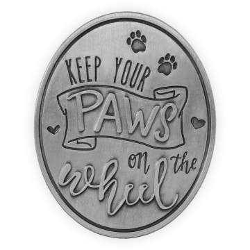 Pawsitive Visor Clip - Keep Your Paws on the Wheel